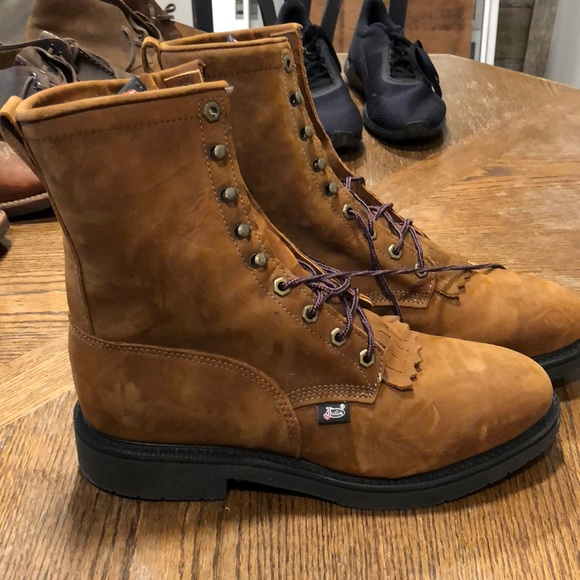 Justin Boots Shoes | Mens Justin Lace